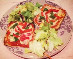 Pizza saludable para todos